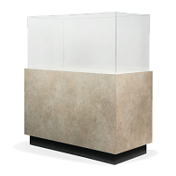 Gaylord Archival® Sapphire™ Rectangular Painted Pedestal Case with Humidity Control