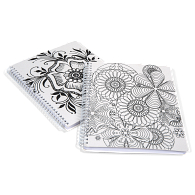 Color-it-Yourself Canvas Cover Sketch Pad