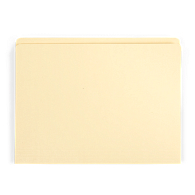 "Gaylord Archival® Reinforced Full 1/2"" Tab Letter Size File Folders (100-Pack)"