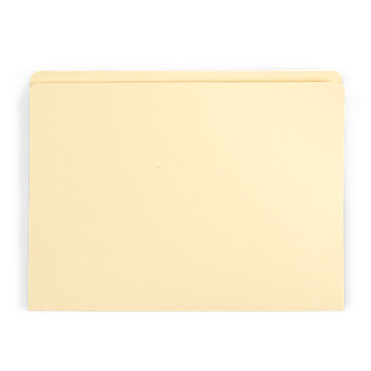 "Gaylord Archival® Reinforced Full 1/2"" Tab Legal Size File Folders (100-Pack)"