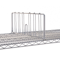 Shelf Divider for Metro Wire Shelving Units