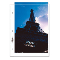 "Print File® 8 mil Polypropylene Oversize Album Pages for 8 x 12"" Prints (25-Pack)"