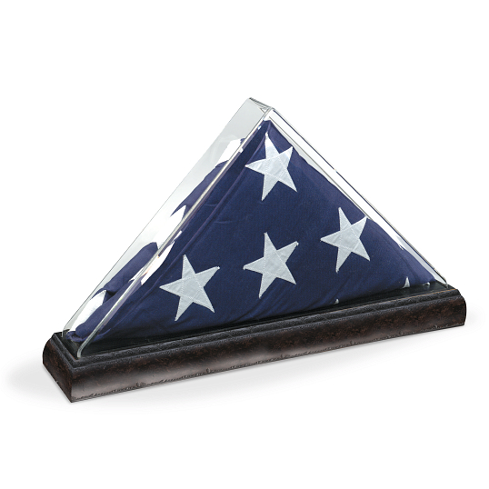 Gaylord Archival® Tabletop Memorial Flag Display Case