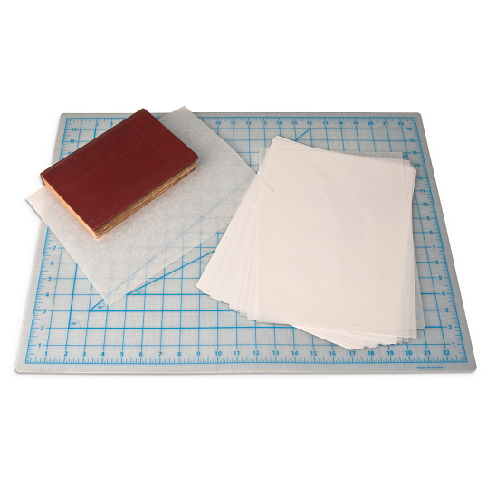 "6 x 9"" Heavily Coated Waxed Paper Sheets (100-Pack)"
