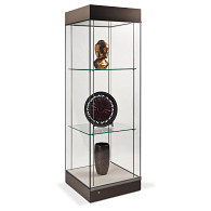 Gaylord Archival® Curator™ Atrium Museum Case with Glass Top