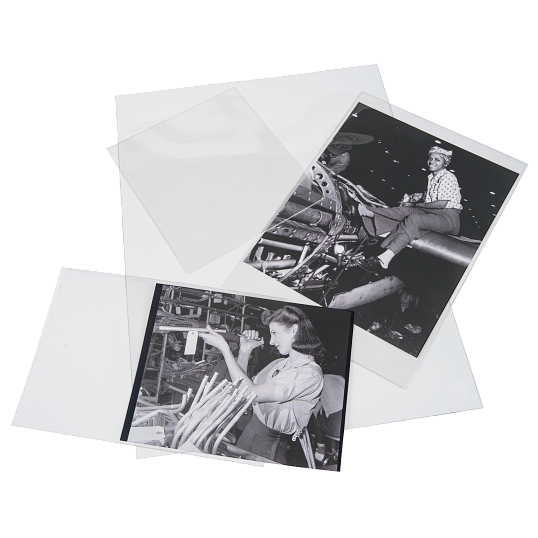 Gaylord Archival® 3 mil Archival Polyester Photo Envelope Variety Pack (40-Pack)