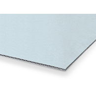 Gaylord Archival® Blue E-flute Corrugated Board Sheets (10-Pack)