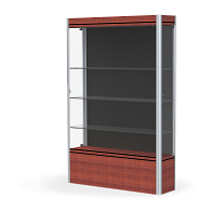 Waddell Contempo Exhibit Case with Black Back