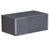 Gaylord Archival® Blue/Grey Barrier Board Shoes Box