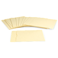 "Gaylord Archival® 10 pt. Folder Stock 13"" LP Record Envelopes (25-Pack)"