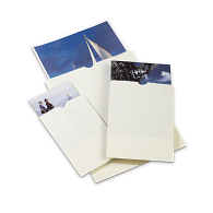 Gaylord Archival® 80 lb. Text Unbuffered Negative & Print Envelopes with Thumb-Cuts (100-Pack)