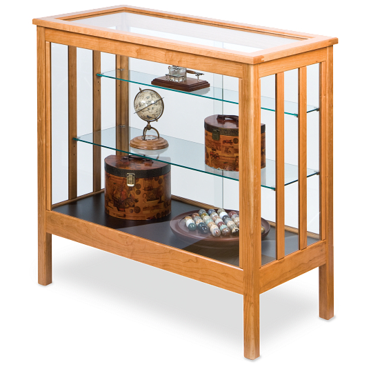 Gaylord Archival® Sedgwick™ Countertop Exhibit Case with LED Lighting