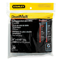 "Stanley® Bostitch® Dual Temperature 4"" Glue Sticks (24-Pack)"