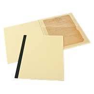 Gaylord Archival® Map & Print Viewing Folders with Cover Sheets (5-Pack)