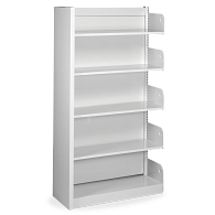 Steel End Panel for Estey Single-Faced Cantilever Shelving