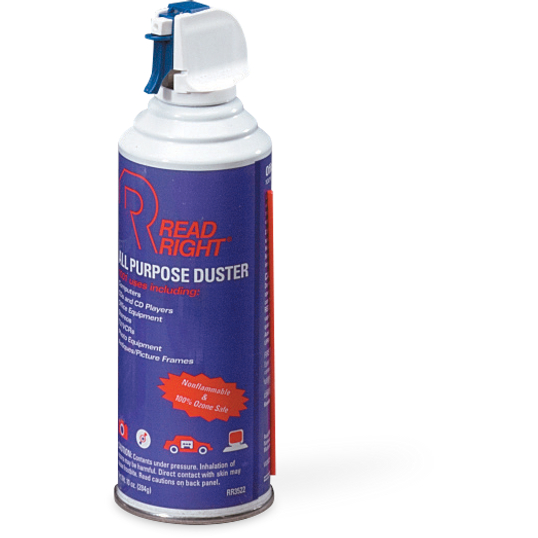 Pressurized Air Dusters (2-Pack)