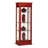 Waddell Varsity Exhibit Case with Fabric Back & Hinged Doors