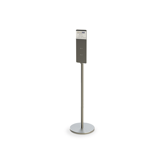 Freestanding Gallery Hand Sanitizer Stand
