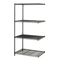 "Safco® 72""H Steel Shelving (Adder)"