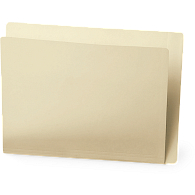Gaylord Archival® Reinforced End Tab Letter Size File Folders (100-Pack)