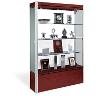 Waddell Contempo Exhibit Case with White Back