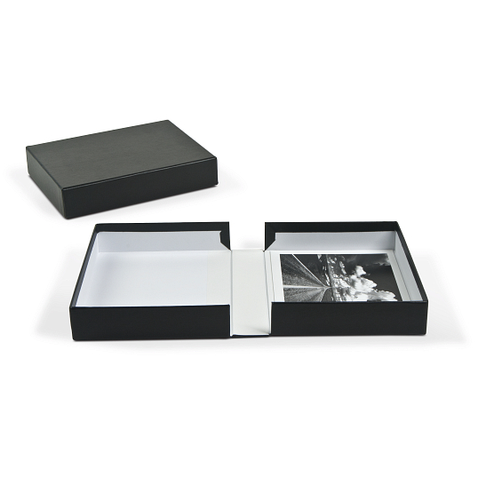 Archival Portfolio Box with White Lining