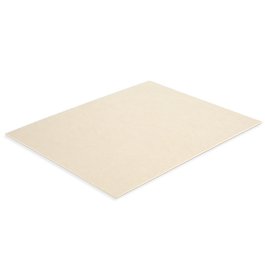 "Gaylord Archival® 40 x 60"" Unbuffered 40 pt. Tan Barrier Board Sheets (25-Pack)"