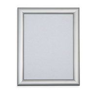 Gaylord Archival® Satin Silver Flip Frame Sign Holder