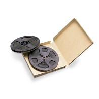 "Gaylord Archival® Clamshell 7"" Audio Reel Box"
