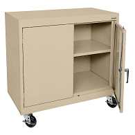 "Sandusky-Lee 36""H Mobile Storage Cabinet"
