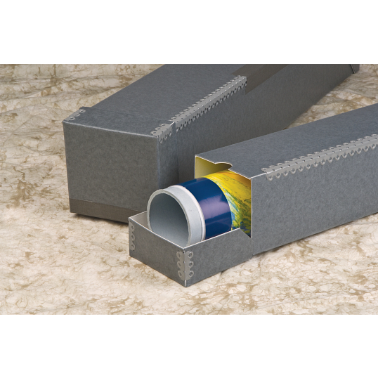 Gaylord Archival® Flip-Top Flip-Bottom Roll Storage Box