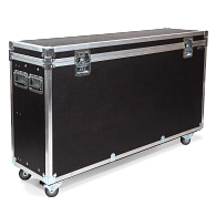 Flight Case for Two Frank Freestanding Tower Exhibit Cases