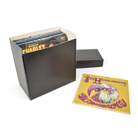 "Gaylord Archival® Black 12"" LP Record & Laser Disc Box"
