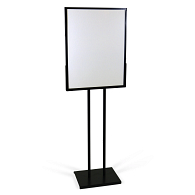 Versa-Frames™ Double-Sided Sign & Poster Tackboard Insert with Frame