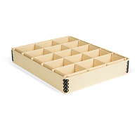 Gaylord Archival® 15-Compartment Light Tan Artifact Tray