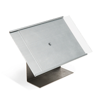 Metal Label Holder with Stand