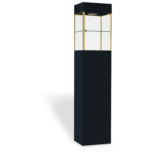 Fineline™ Square Tower Exhibit Case
