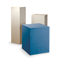 Gaylord Archival® Jewell™ Paintable Exhibit Pedestal