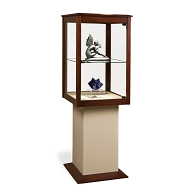 Gaylord Archival® Joele™ Wood & Glass Exhibit Case