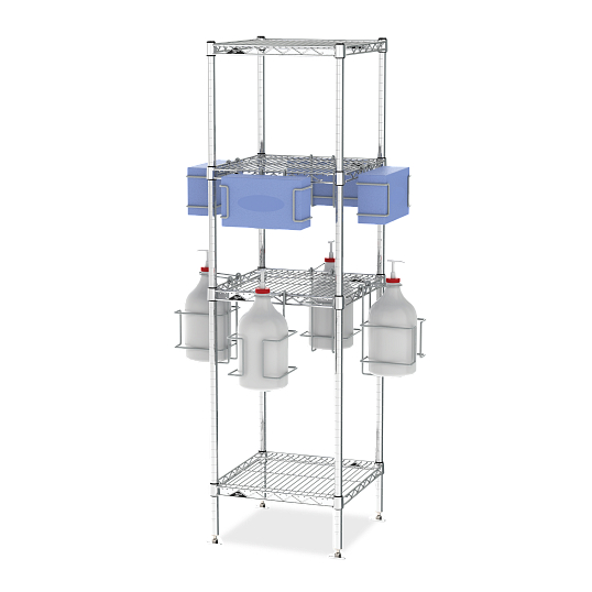 PPE & Sanitization Access Tower