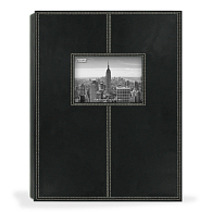 Pioneer® Leatherette Photo Album with Contrast Stitching
