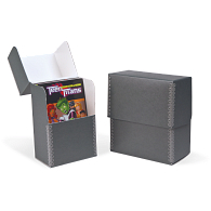 Gaylord Archival® Blue/Grey Barrier Board Flip-Top Pamphlet Box