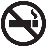 Self-Adhesive Removable Vinyl No Smoking Graphic