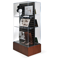 Gaylord Archival® Keynote Island Exhibit Case