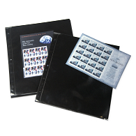 Supersafe® Mint Sheet Album Black Refill Pages (12-Pack)
