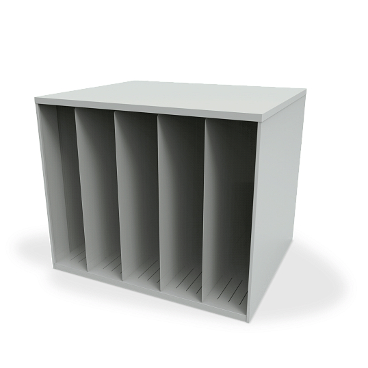 Stackable Vertical Art Storage Bin