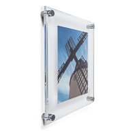Gaylord Archival® Essential Acrylic Sandwich Frame Kit with Acrylic Mat