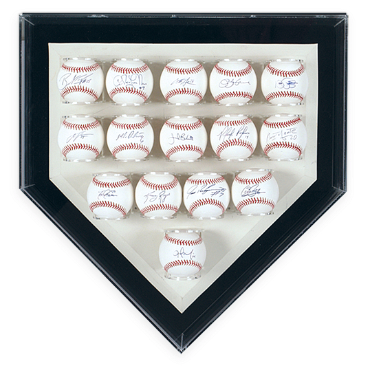 Gaylord Archival® League Home Plate Multi-Baseball Display Case