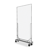 Mobile Freestanding Acrylic Divider
