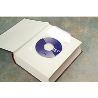 5 mil Polypropylene CD Pockets (100-Pack)